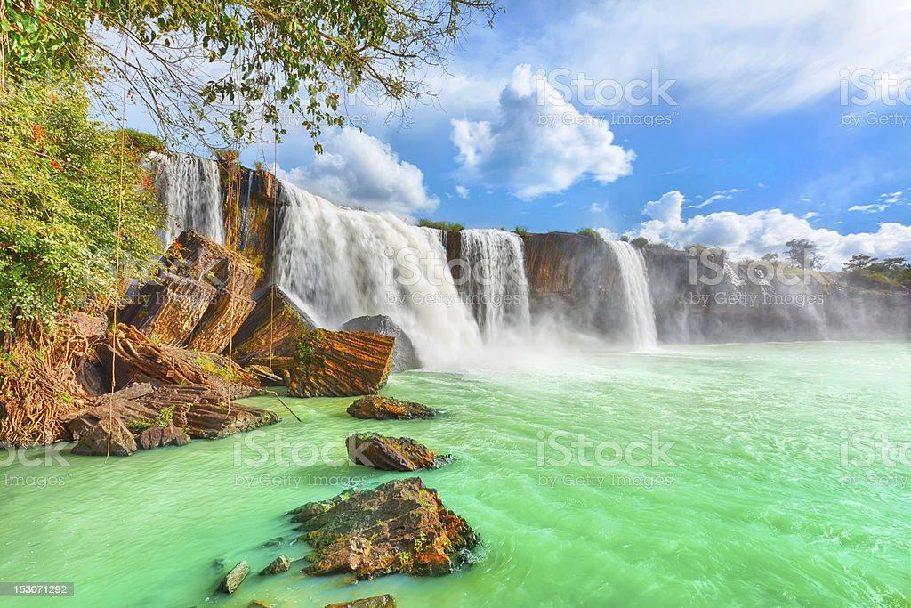 Dry Nur Wasserfall – Foto