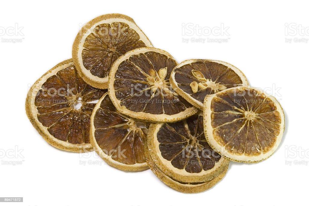 dry orange silces royalty-free stock photo