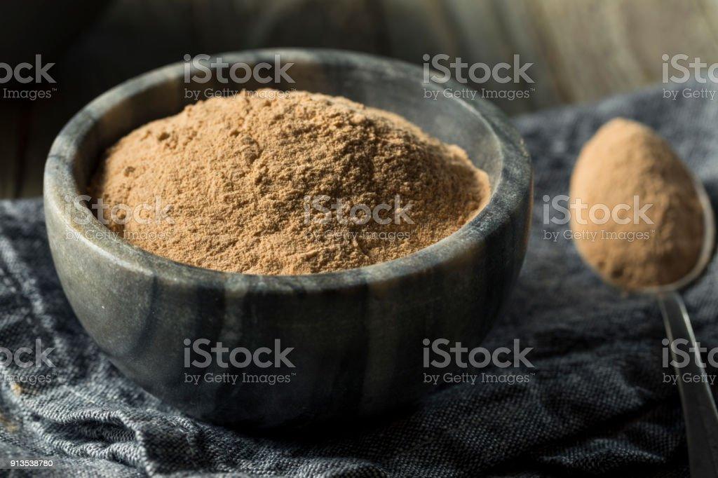 Dry Organic Lucama Powder Superfood stock photo