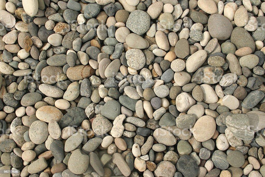 Dry Pebbles royalty-free stock photo