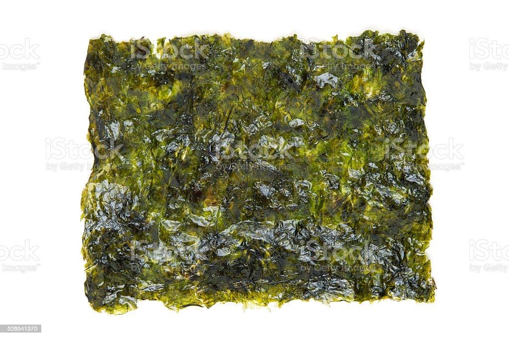 dry seaweed stock photo