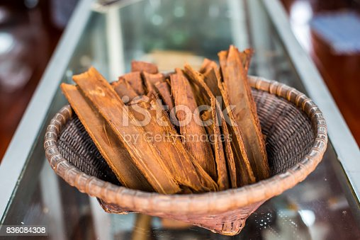 istock Dry shell stored in a basket 836084308
