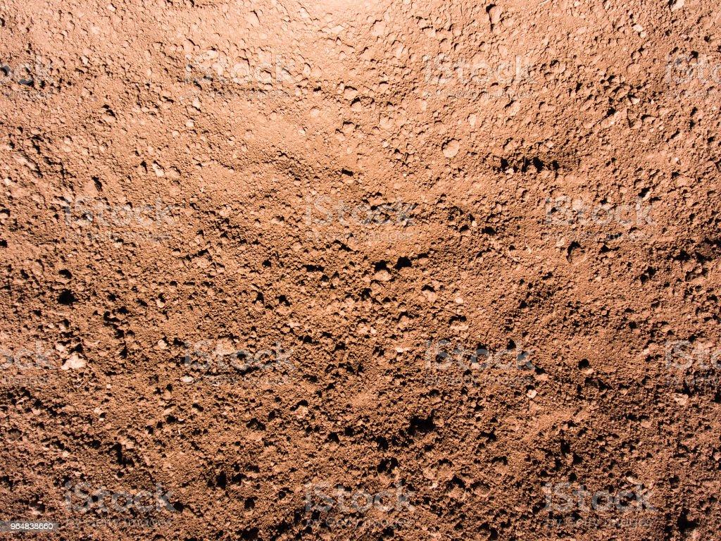Dry soil texture royalty-free stock photo