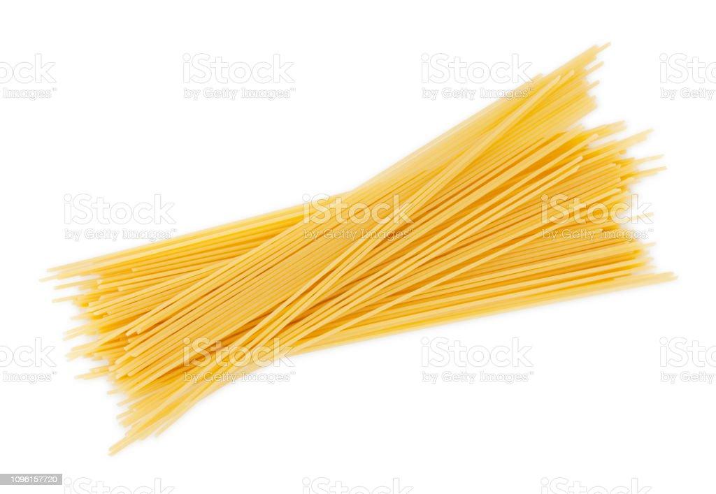 Dry Spaghetti Pastas - Foto stock royalty-free di Alimenti secchi