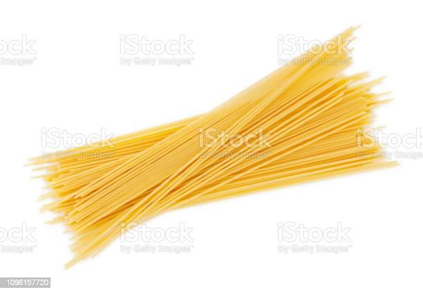 Dry Spaghetti Pastas - Fotografie stock e altre immagini di Alimenti secchi