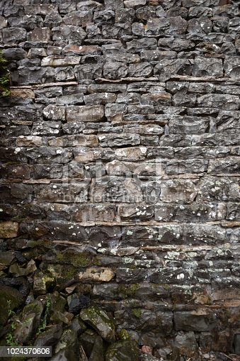 Dry stone walls are a feature of the British Countryside. There are estimated to be over 5,000 miles in the Yorkshire Dales alone.