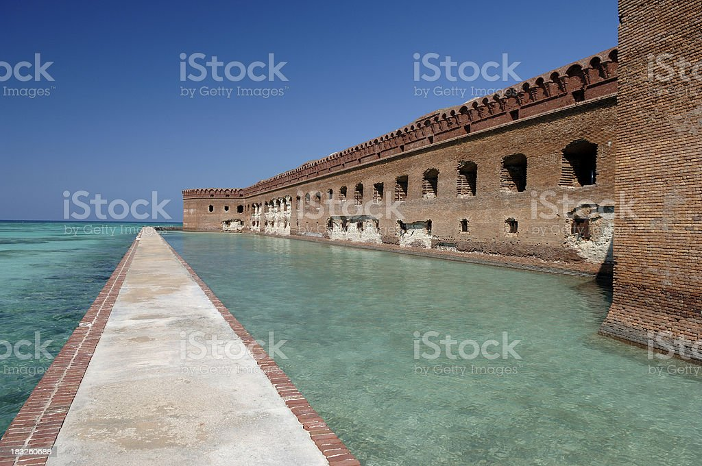Dry Tortugas royalty-free stock photo
