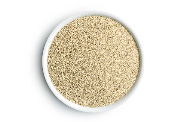 dry yeast in bowl – Foto