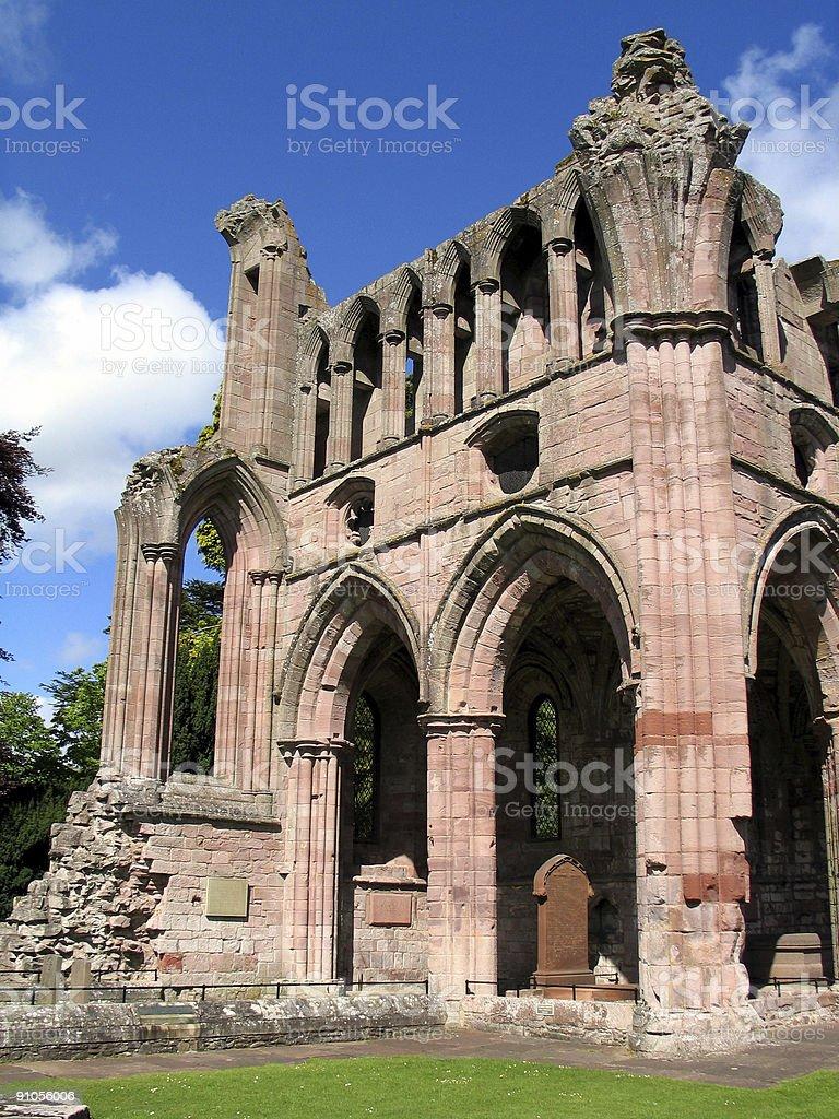 Dryburgh Abbey royalty-free stock photo