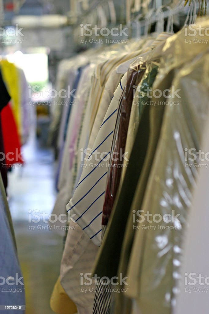 Drycleaned Clothing 1 royalty-free stock photo
