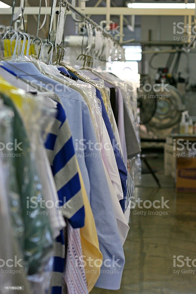 Drycleaned Clothing 3 royalty-free stock photo