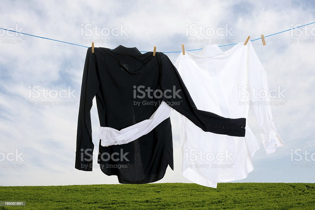dry-cleaning royalty-free stock photo