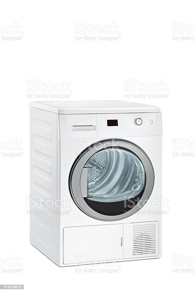 Dryer(clipping path) stock photo