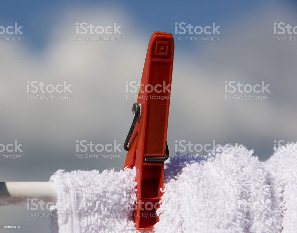 drying royalty-free stock photo