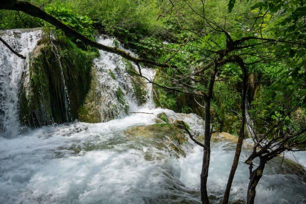DSC4263a6000 Plitvice Lakes National Park, Croatia stock photo