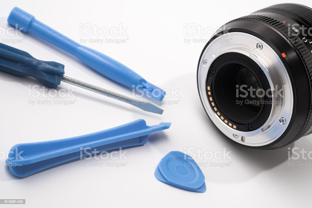 Dslr Lens Repair Stock Photo & More Pictures of Accuracy - iStock