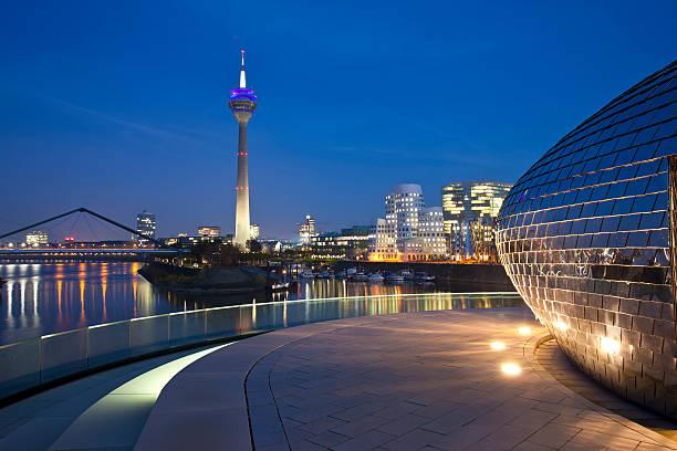 Hafen von Düsseldorf, Deutschland – Foto