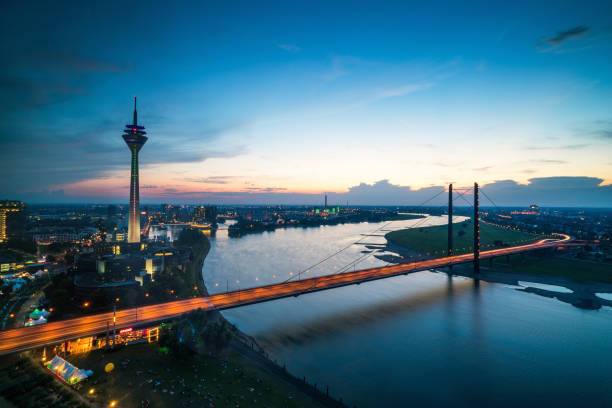 Düsseldorfer Medienhafen in Deutschland – Foto