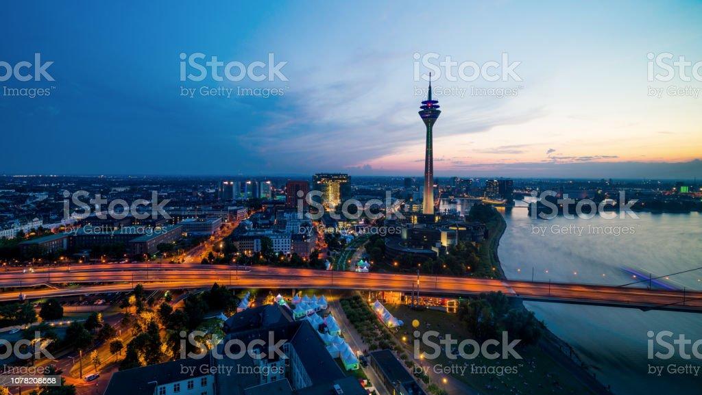 Düsseldorf - Lizenzfrei Architektur Stock-Foto