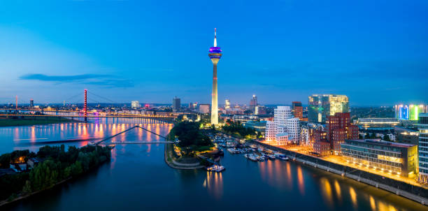Düsseldorf Skyline – Foto