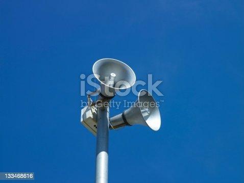 istock Dual loudspeakers 133468616