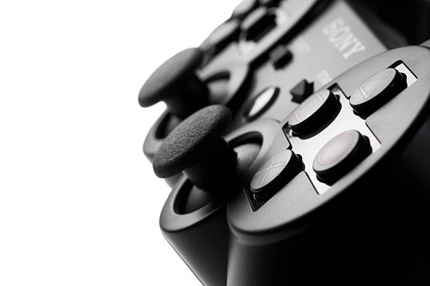 PS3 Dual Shock Controller stock photo