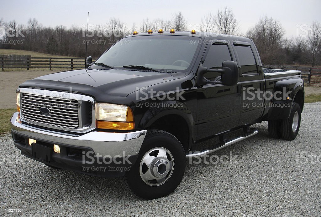 Dually Truck stock photo
