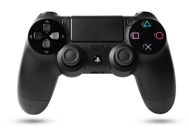 DualShock 4 Wireless Controller for PlayStation 4 stock photo