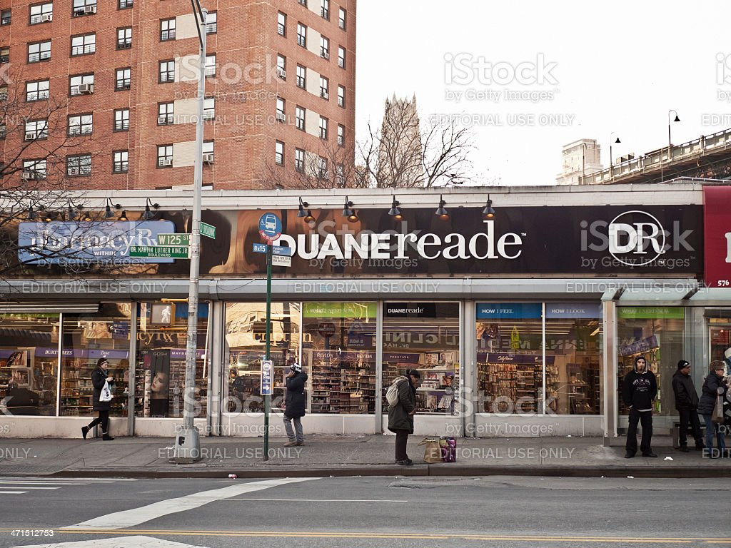 Duane Reade stock photo