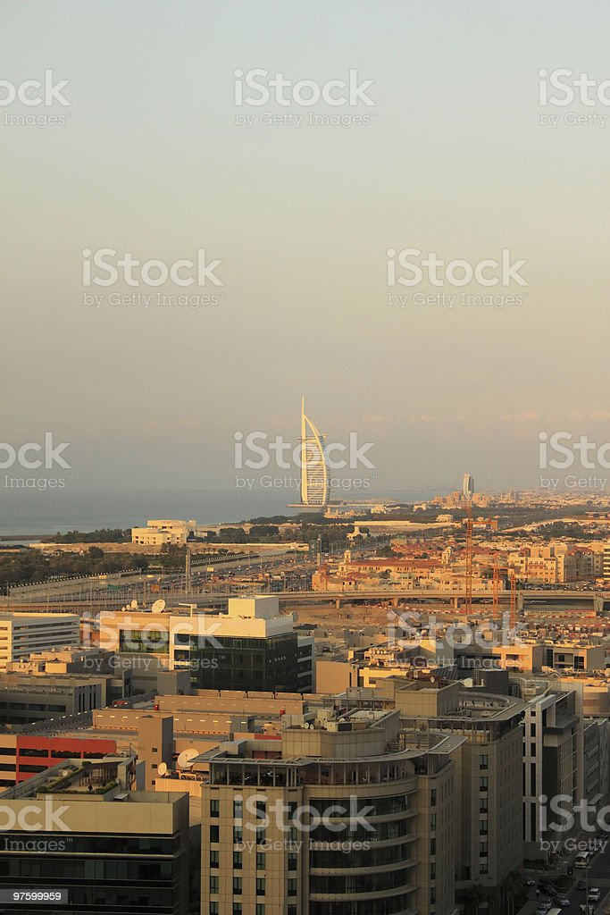 Dubai Aerial View royalty-free stock photo