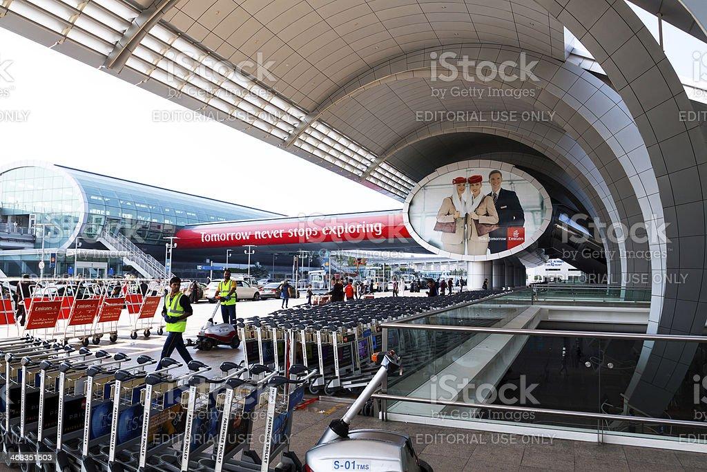 Dubai Airports royalty-free stock photo