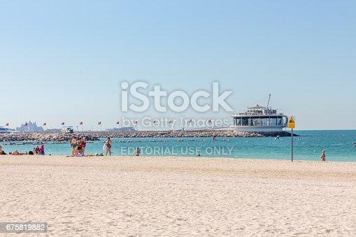 512697874 istock photo Dubai beach 675819882