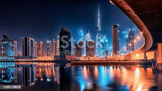 Dubai cityscape downtown