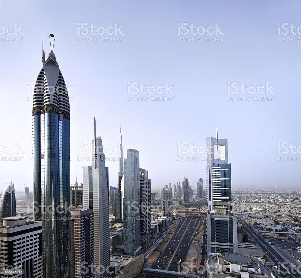 Dubai cityscape royalty-free stock photo