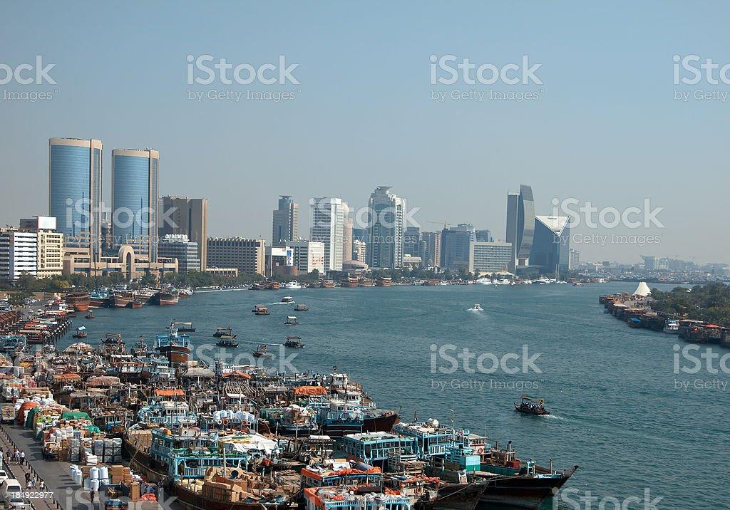 Dubai Creek royalty-free stock photo