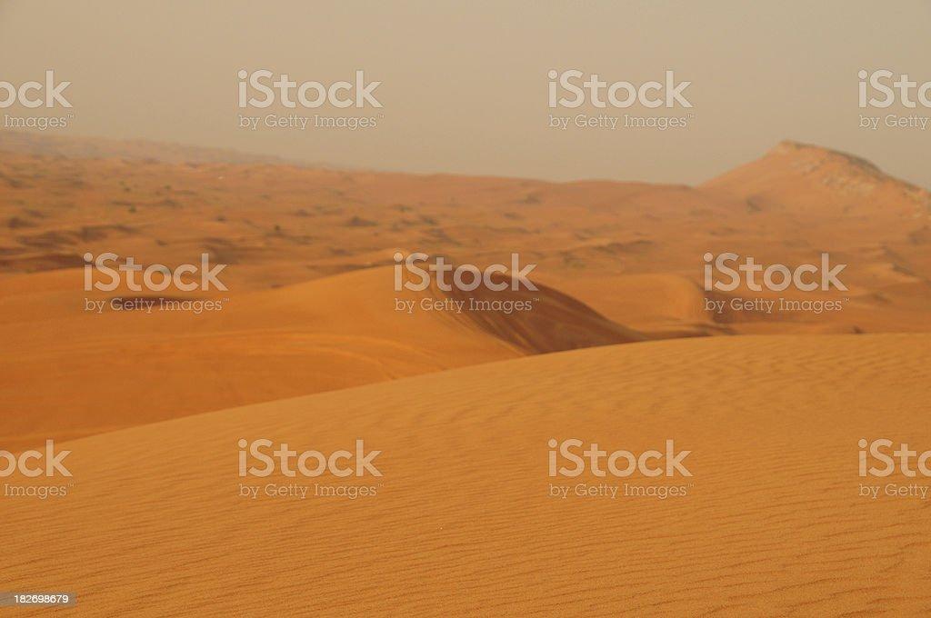 Dubai desert royalty-free stock photo