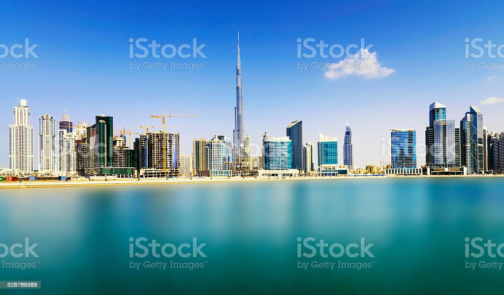 Dubai Downtown stock photo