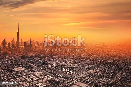 istock Dubai downtown skyline 627048910