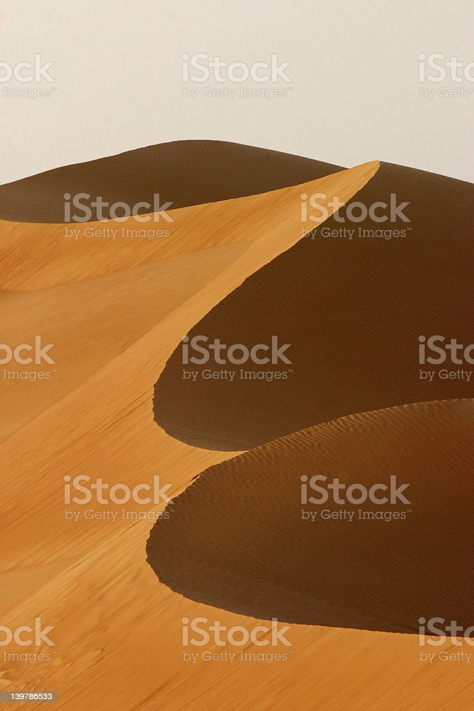 Dubai Dune Abstract royalty-free stock photo