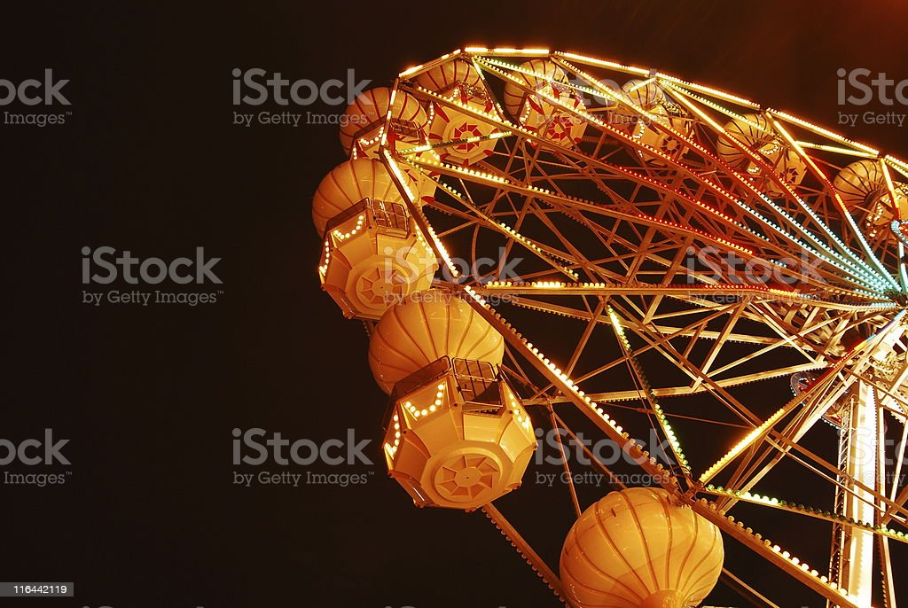dubai fairywheel royalty-free stock photo