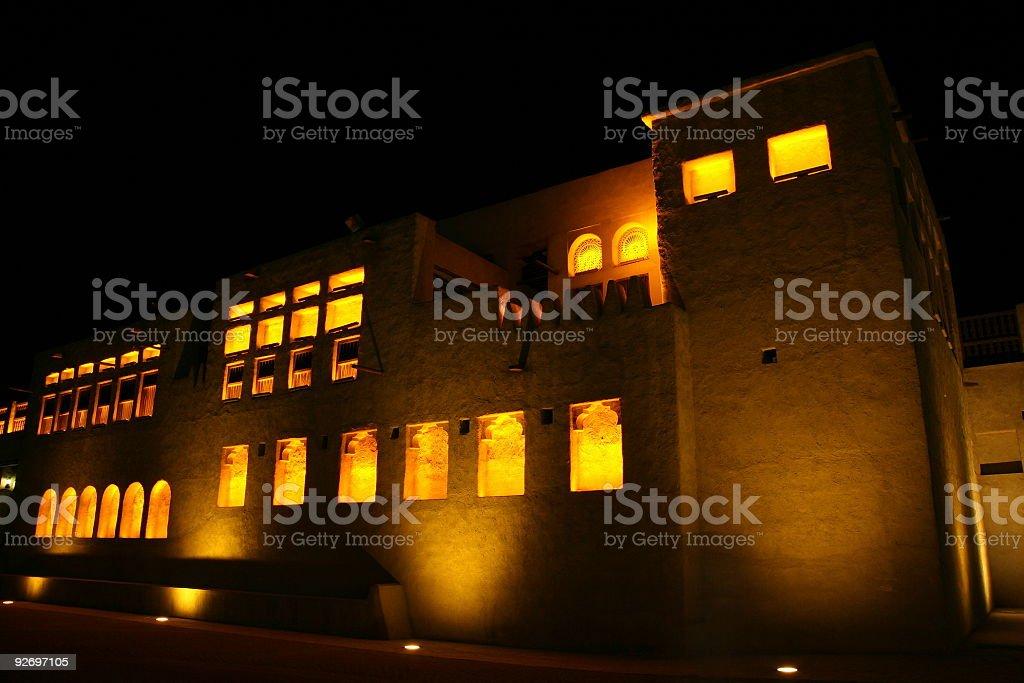 Dubai Heritage Village stock photo