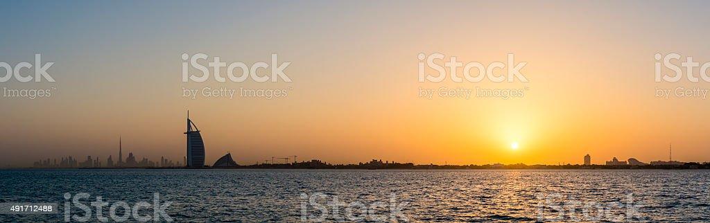 Dubai Icons stock photo
