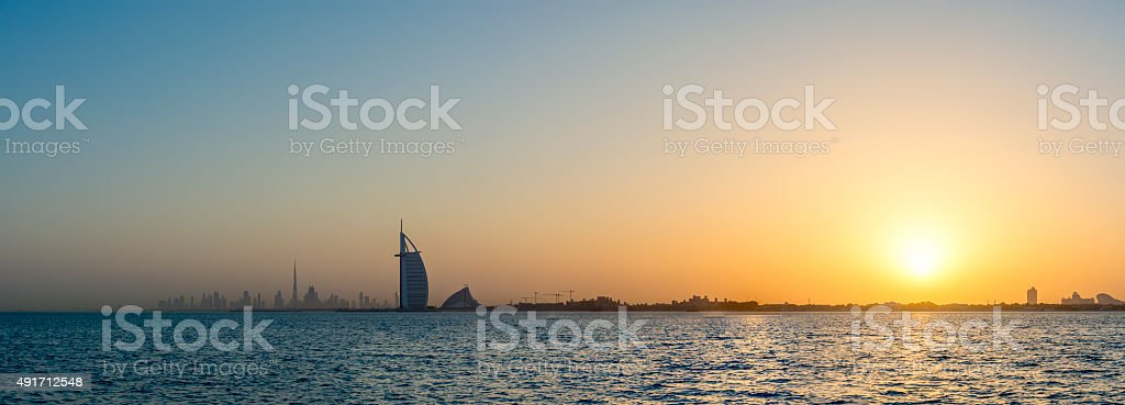 Dubai Icons stock photo