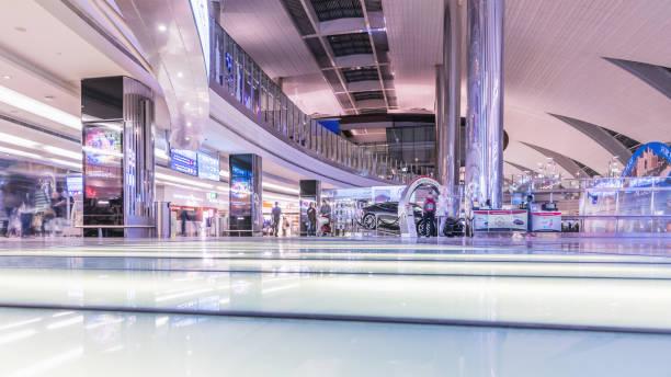 Dubai internationaler Airport¸. Dubai International Airport ist der wichtigste Flughafen Dubai dienen. – Foto