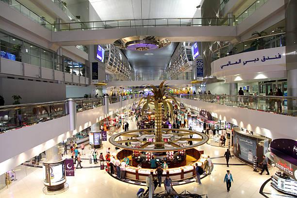 Dubai International Airport. UAE stock photo