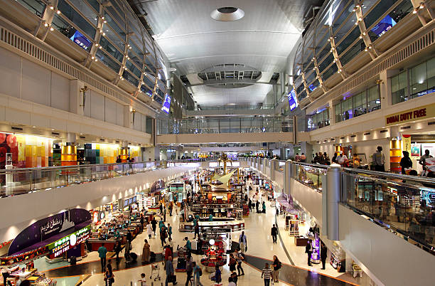Dubai International Airport, UAE stock photo