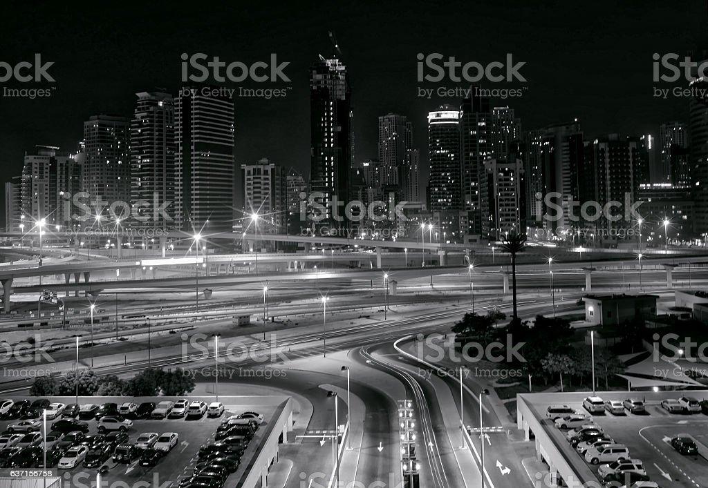 Dubai JLT stock photo