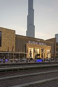 istock Dubai Mall facade at Christmas time with BurjKhalifa in the background 1200353641