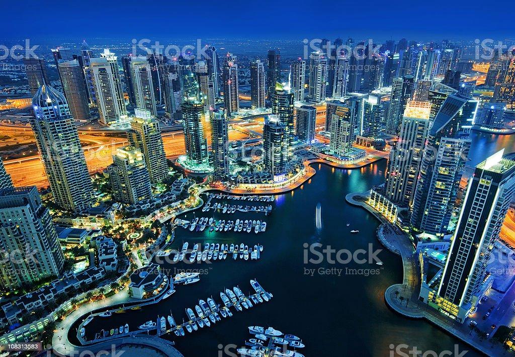 Dubai Marina royalty-free stock photo