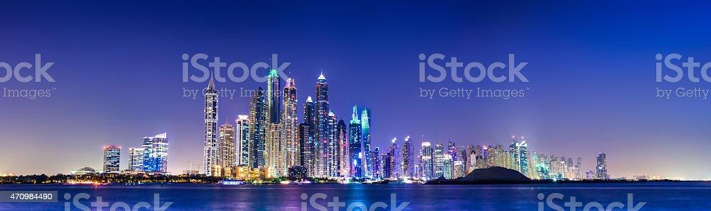 Marina de Dubai - foto de acervo